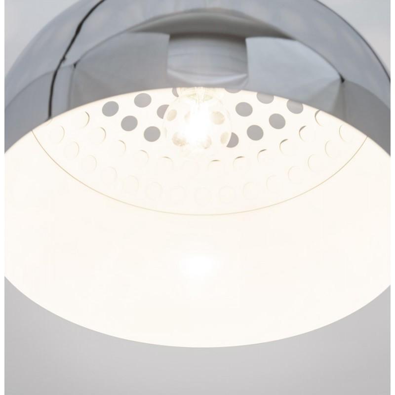 Lampe à suspension design ARRENGA en métal (chromé) - image 17264