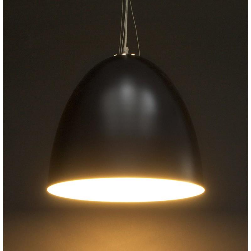 Lampada metallo design a sospensione BARBION (nero) - image 17295
