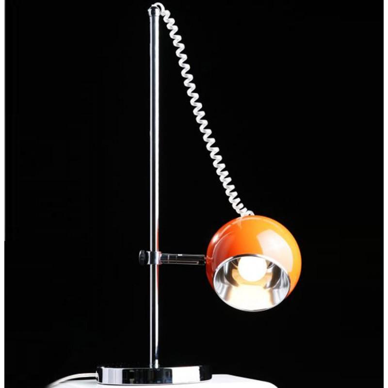 Lampe de table design BATARA en métal (orange) - image 17361