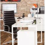 Metal BATARA design table lamp (orange)