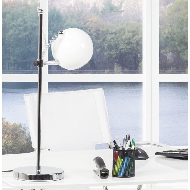 Design Tischleuchte BATARA Metall (weiß) - image 17370