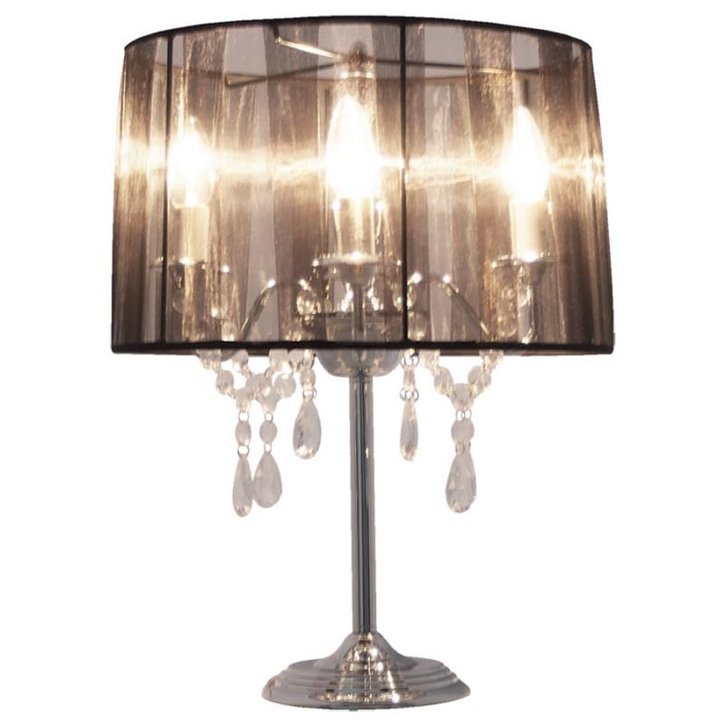 Diseño de lámpara de mesa de metal BARGE (negro) - image 17373