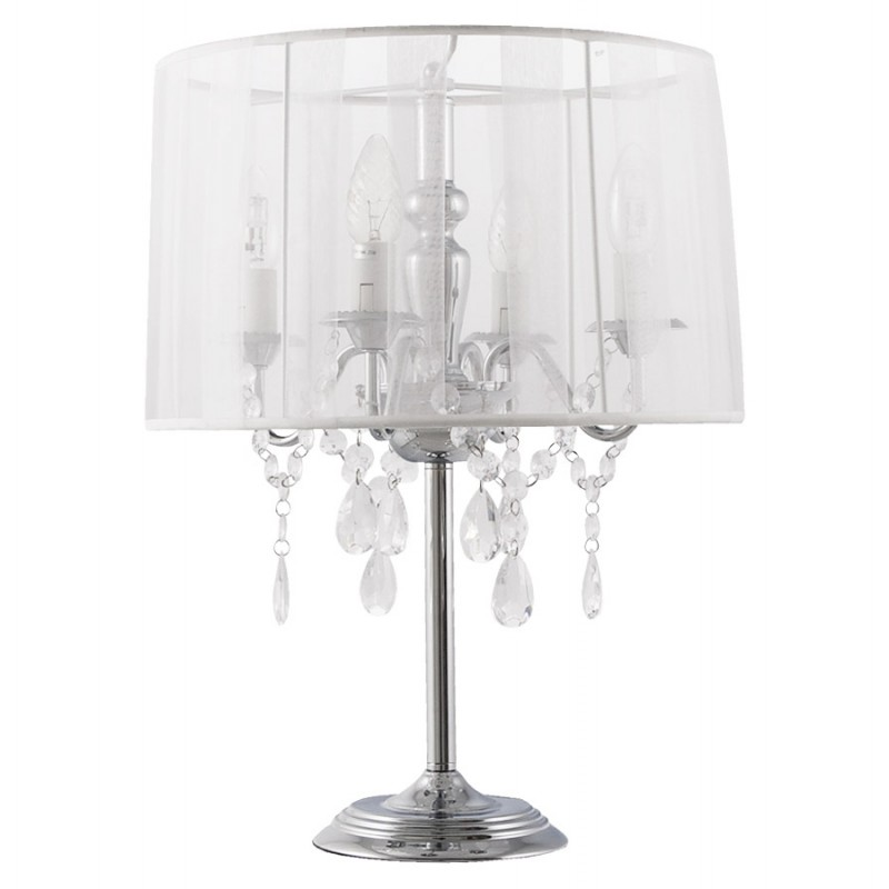 Design table BARGE metal lamp (white) - image 17380