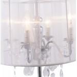 Design table BARGE metal lamp (white)
