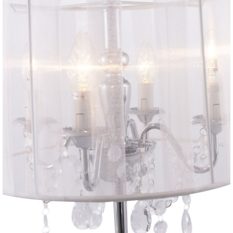 Design table BARGE metal lamp (white) - image 17382
