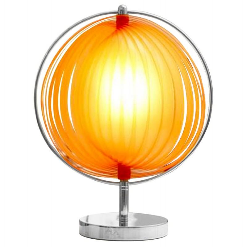 BECHE SMALL metal design table lamp (orange) - image 17394
