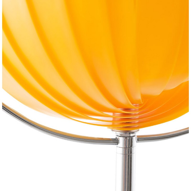 BECHE SMALL metal design table lamp (orange) - image 17395