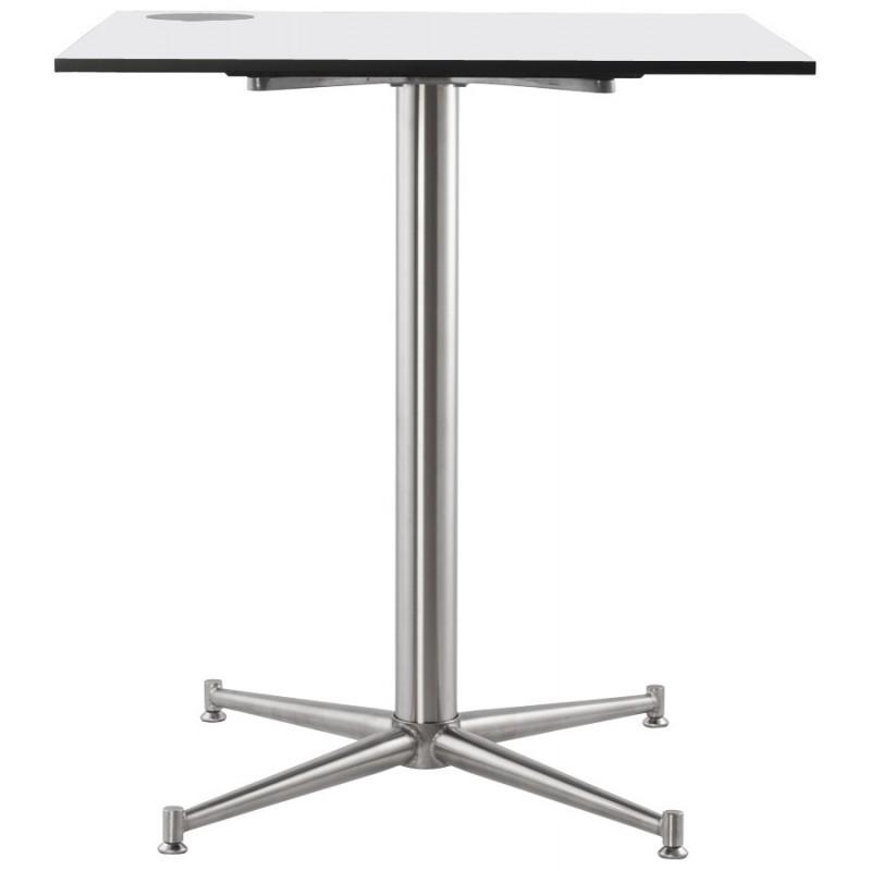 Piazza superiore del tavolo quadrato VERA polimero (60cmX60cmX3cm) (bianco) - image 17423