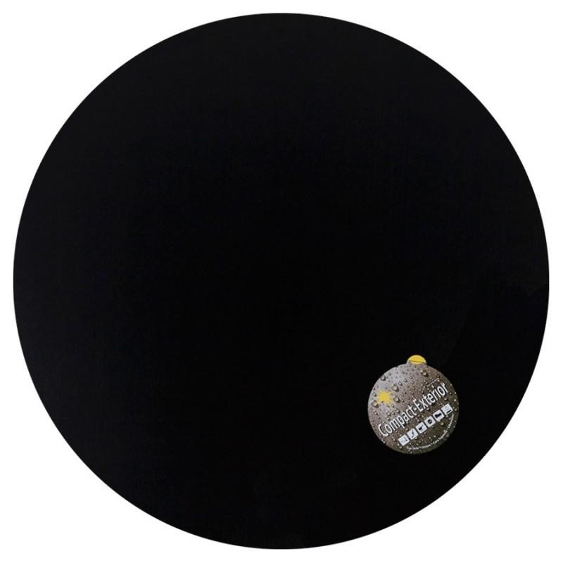 Table top round VERA polymer (60cmX60cmX3cm) (black)