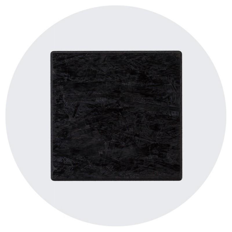Plateau de table LILAS rond en polymère (68cmX68cmX3cm) (blanc) - image 17445