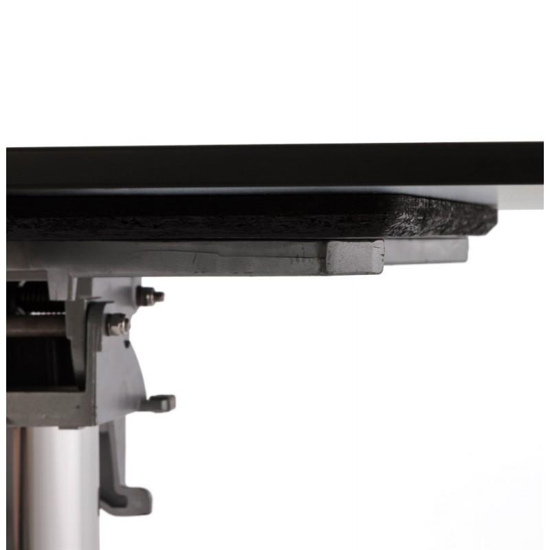 Plateau de table LILAS rond en polymère (68cmX68cmX3cm) (blanc) - image 17446