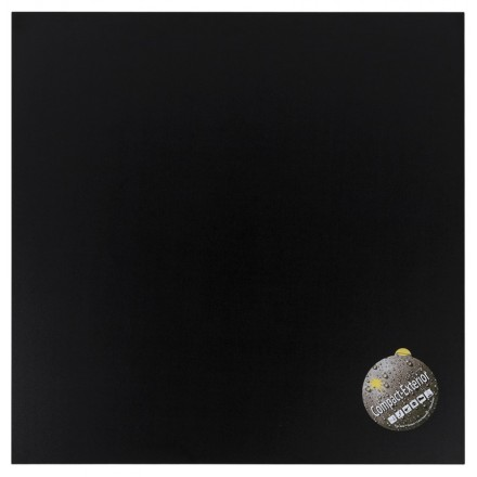 Table LILAS top square polymer (68cmX68cmX3cm) (black)