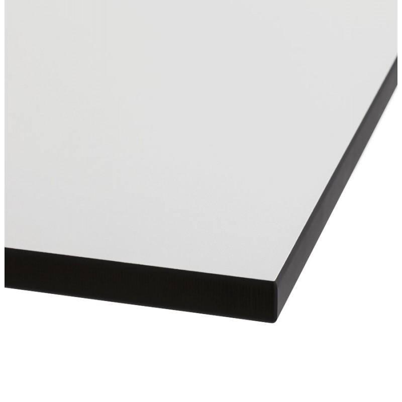 Plateau de table LILAS carré en polymère (68cmX68cmX3cm) (blanc) - image 17460