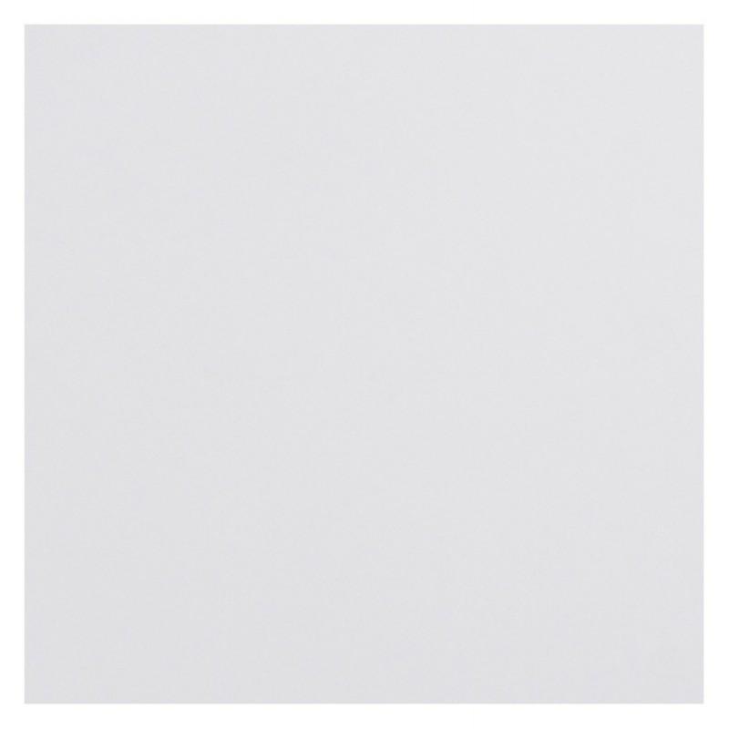 Plateau de table JASMINE carré en bois (70cmX70cmX2cm) (blanc)