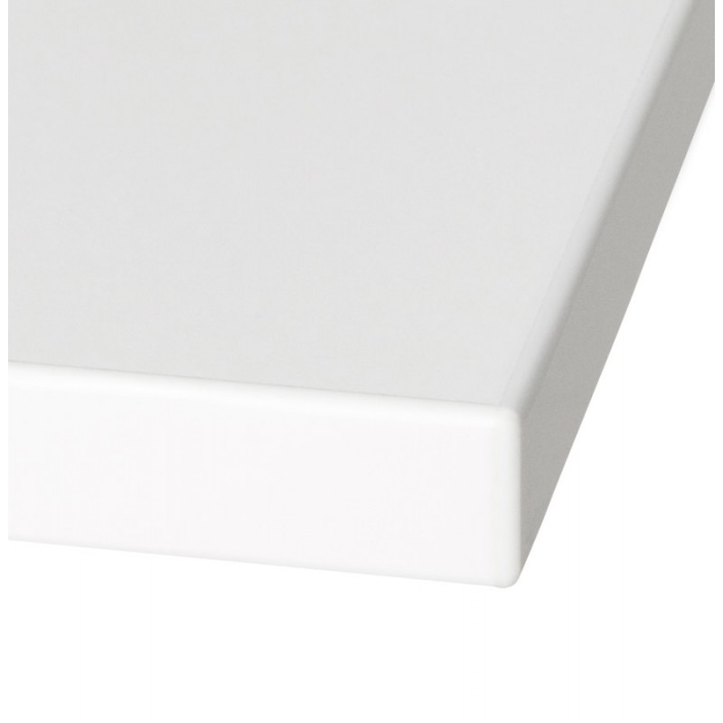 Plateau de table JASMINE carré en bois (70cmX70cmX2cm) (blanc) - image 17566