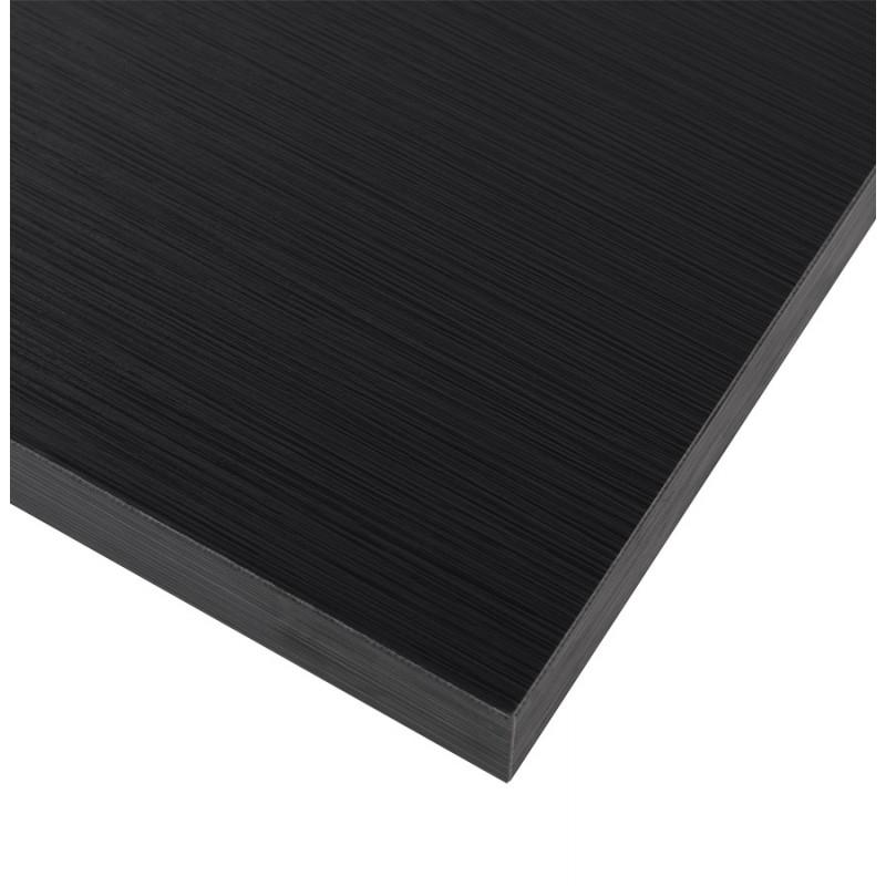 Plateau de table carré ROSA en bois ou dérivés (70cmX70cmX3cm) (noir) - image 17576