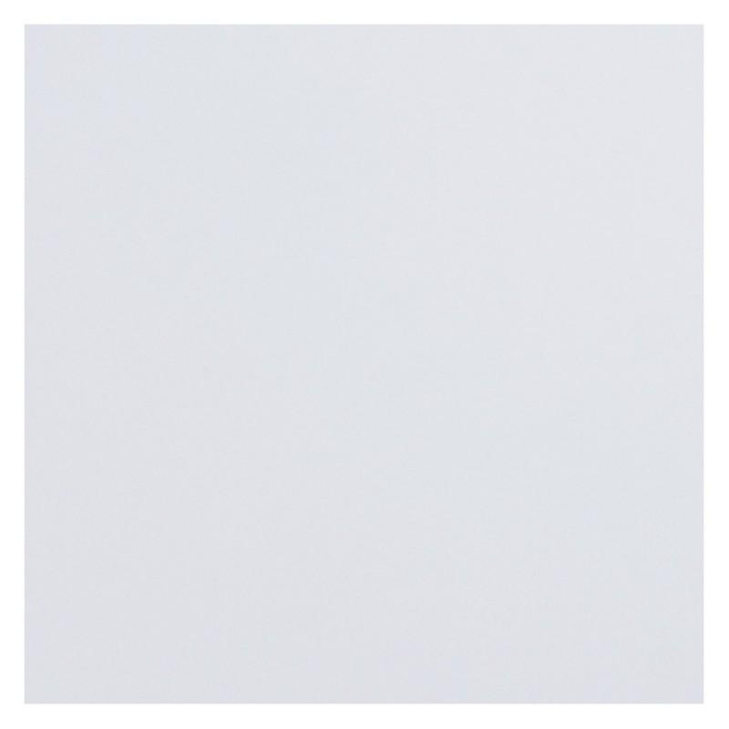 Plateau de table LEA carré en bois stratifié grand modèle (70cmX70cmX2cm) (blanc)