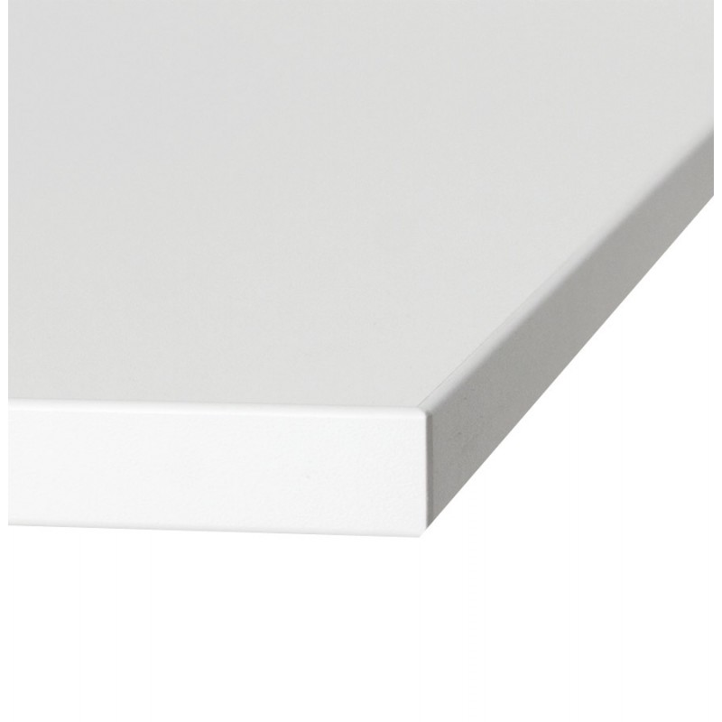 LEA table top square wood laminate (60cmX60cmX2cm) (white)
