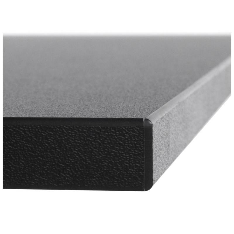 Plateau de table LEA carré en bois stratifié (60cmX60cmX2cm) (noir) - image 17613