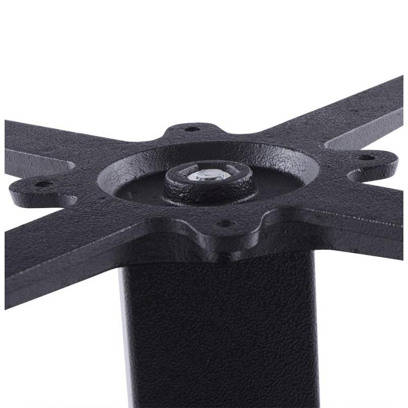Pied de table WIND carré sans plateau en métal (50cmX50cmX73cm) (noir) - image 17660