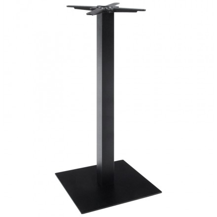 Pied de table wind carr sans plateau en m tal - Table a repasser sans pied ...