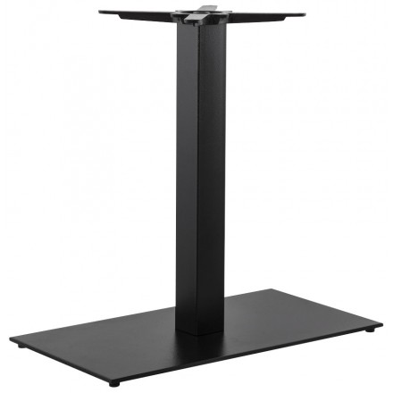 Rectangular table leg CHAIRE of metal (40cmX75cmX75cm) (black)
