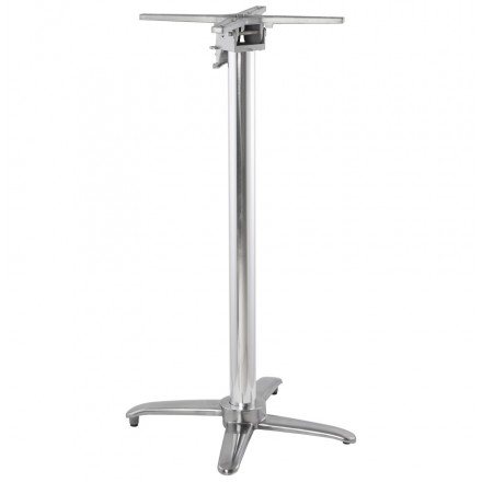 Table leg JANE shape Cross aluminium (62cmX62X110cm)