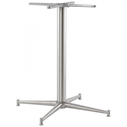 Table leg VERON shape Cross metal (70cmX70cmX75cm)