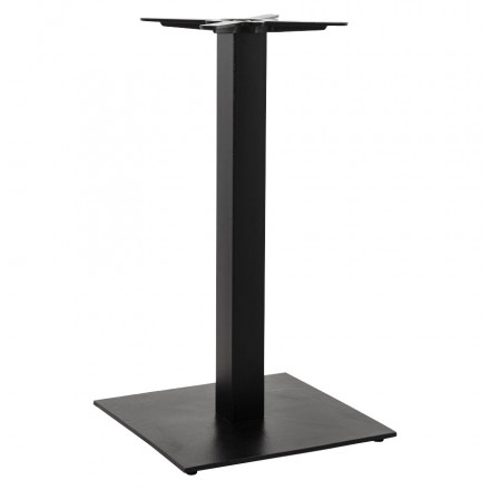 Square metal table leg PARY (50cmX50cmX90cm) (black)