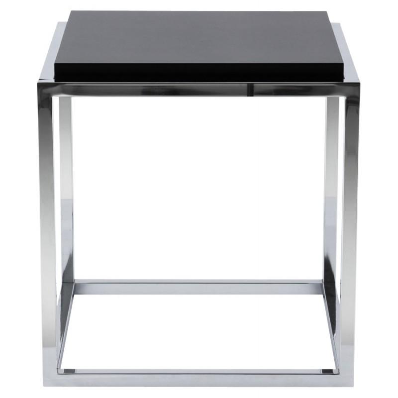 KVADRA side table wooden or derived (black) - image 17834