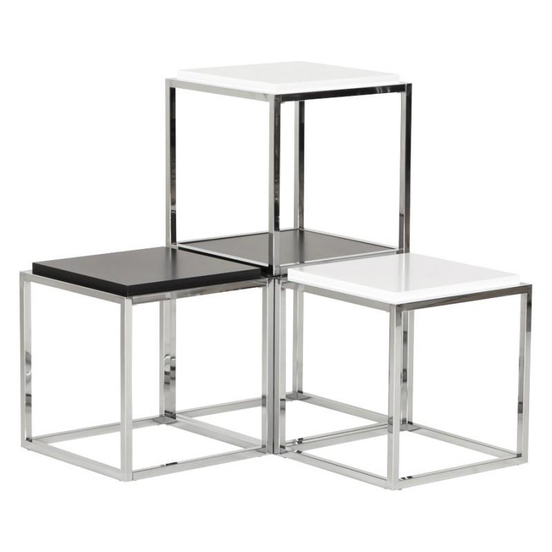 KVADRA side table wooden or derived (black) - image 17839