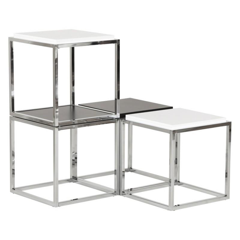 KVADRA side table wooden or derived (black) - image 17840