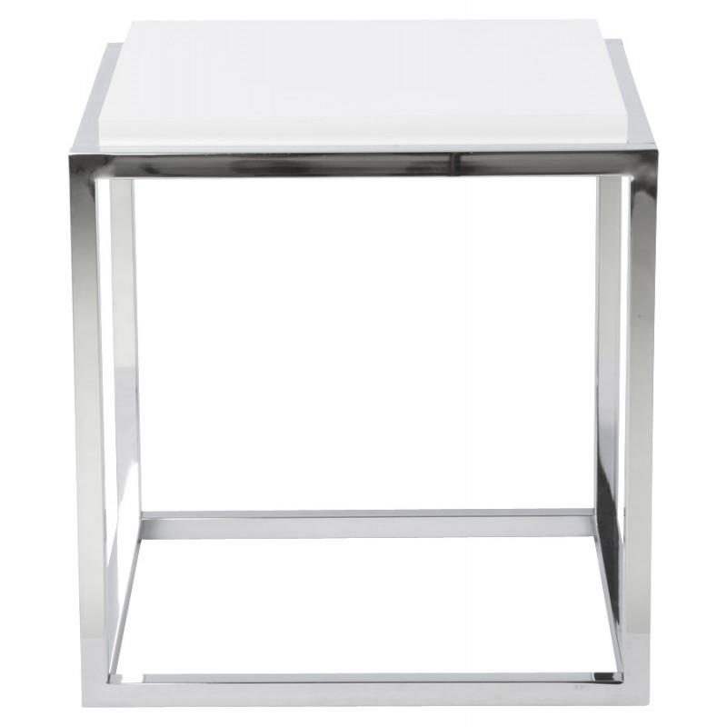 Table d'appoint KVADRA en bois ou dérivé (blanc) - image 17843