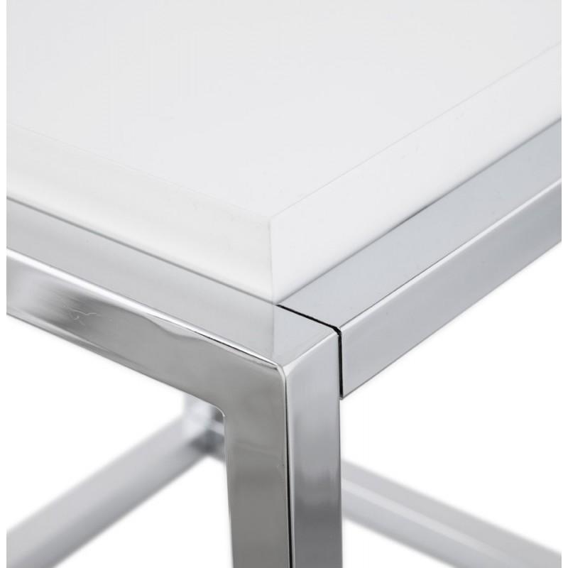Table d'appoint KVADRA en bois ou dérivé (blanc) - image 17844