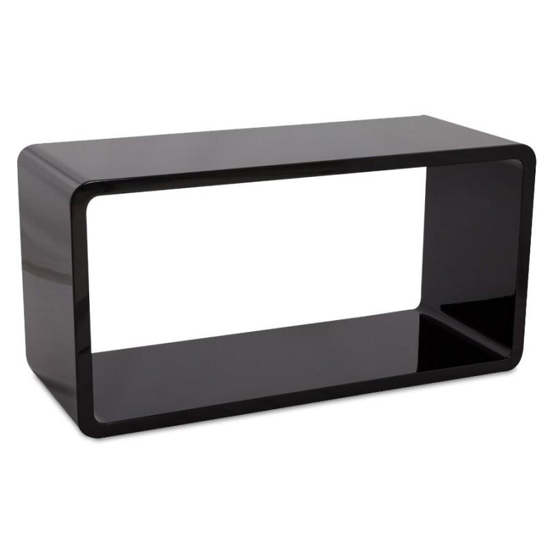 Mesa de centro madera RECTO (MDF) lacado (negro) - image 17863