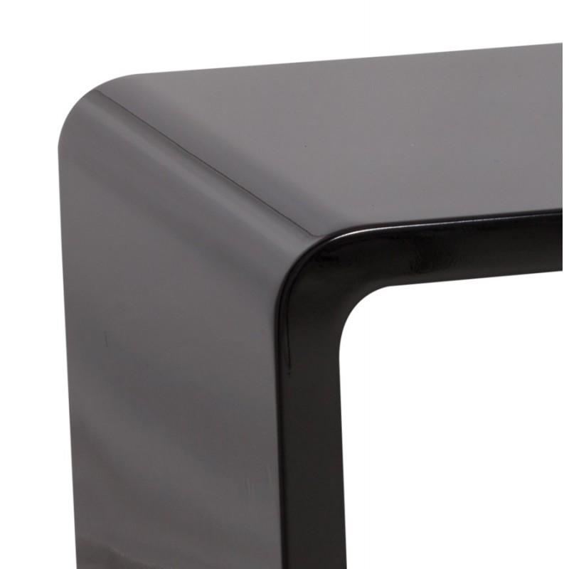 Mesa de centro madera RECTO (MDF) lacado (negro) - image 17866
