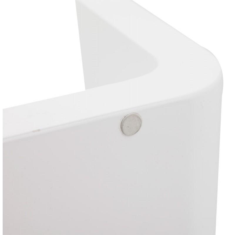 Mesa laca RECTO madera (MDF) (blanco) - image 17927