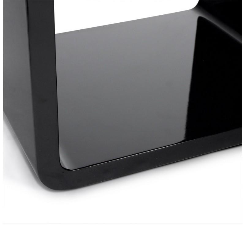 Uso polivalente Cubo de madera VERSO (MDF) lacado (negro) - image 17947