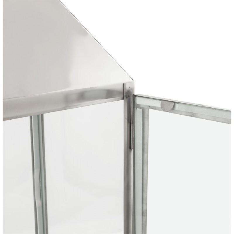 Lanterne DRONGO en aluminium (petit modèle) (argent) - image 18068