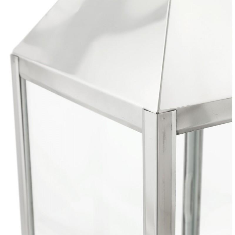 Lanterne DRONGO en aluminium (petit modèle) (argent) - image 18070