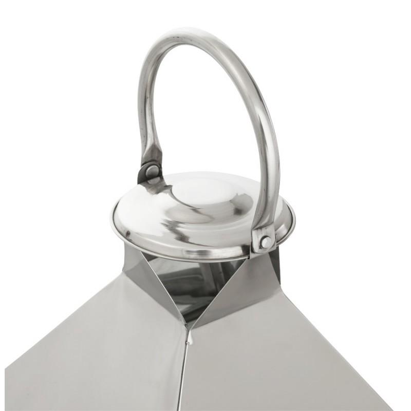 Lanterne DRONGO en aluminium (petit modèle) (argent) - image 18071