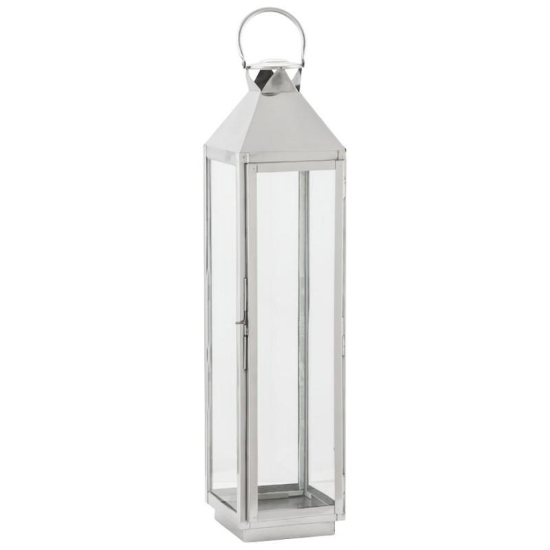 Lanterne DRONGO en aluminium (grand modèle) (argent)