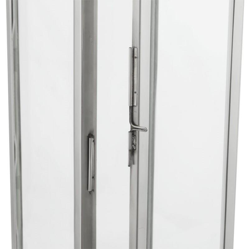 Lanterne DRONGO en aluminium (grand modèle) (argent) - image 18076