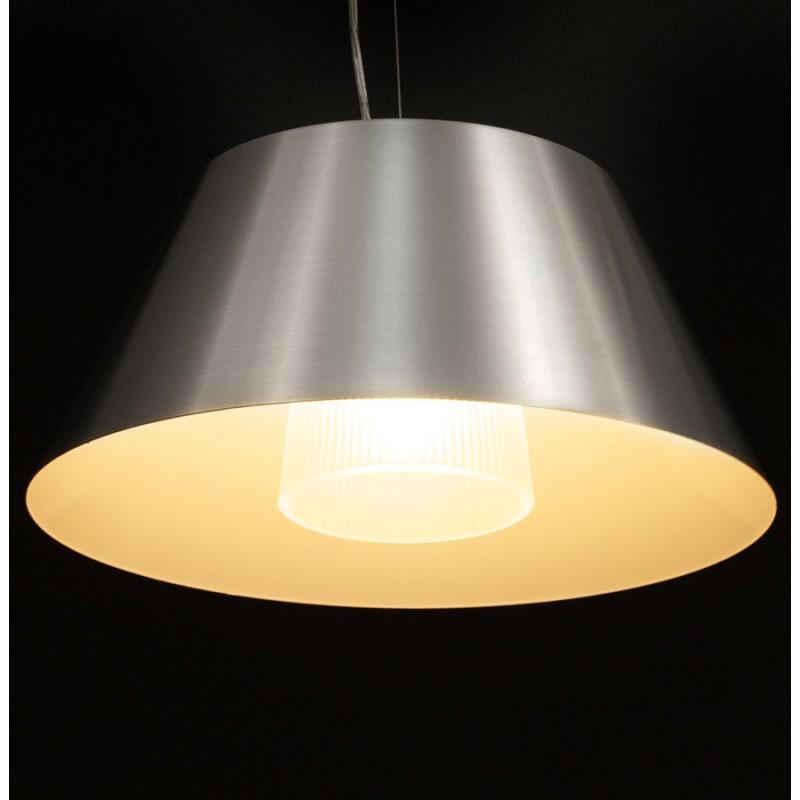 Lampe suspendue BARE en métal (argent) - image 18084