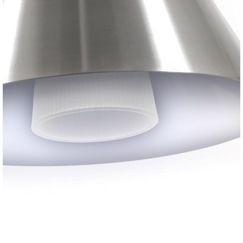 Lampe suspendue BARE en métal (argent) - image 18085