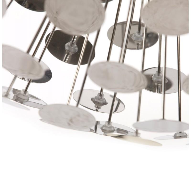 lampe suspendue design calao en m tal chrom. Black Bedroom Furniture Sets. Home Design Ideas