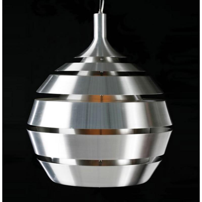 Lampe suspendue design TROGON en métal (argent) - image 18103