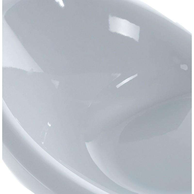 Poltrona LOIRE design sfera in ABS (bianco) - image 18143