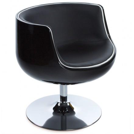 Design-Sessel Dreh TARN (schwarz)