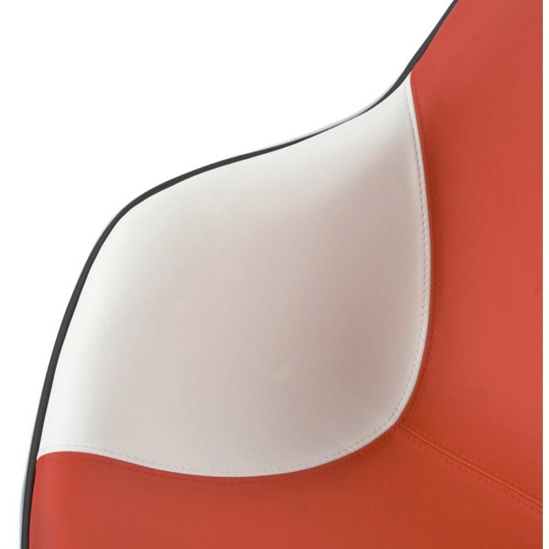Design-Sessel Dreh RHONE (weiß und rot) - image 18282